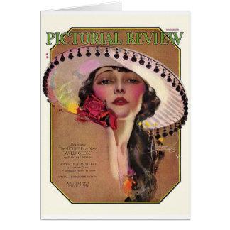Review imagé, 1925 carte de vœux