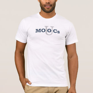 Révolution d'université de MOOCs - éducation pour T-shirt