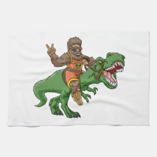 rex Bigfoot de rex-T de la Bigfoot-bande dessinée Linge De Cuisine