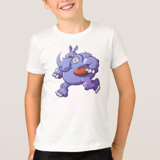 Rhinocéros de rugby t-shirt