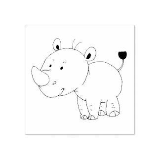rhinocéros mignon de bébé