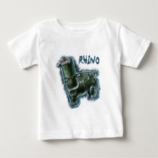 rhinocéros t-shirt pour bébé