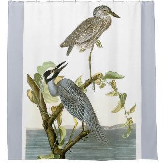 Rideau en douche animal de marécages d'oiseaux de