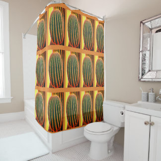 Rideau en douche de bras de Saguaro