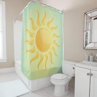 Rideau en douche de conception de soleil