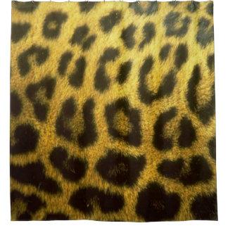 Rideau en douche de léopard