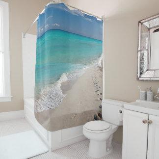 Rideau en douche de plage du Mexique