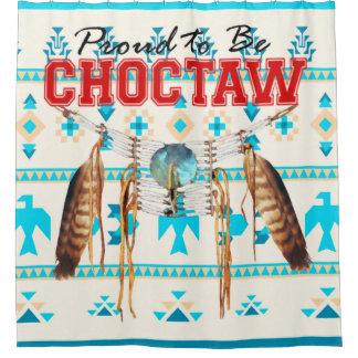 Rideau en douche de Thunderbird de Choctaw