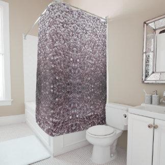 Rideau en douche mauve Shimmery