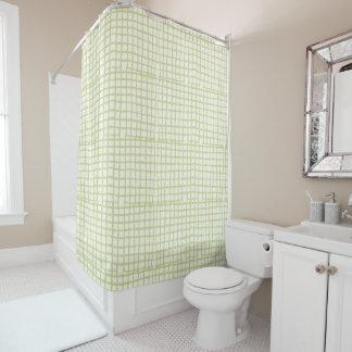 Rideau en douche moderne de maille