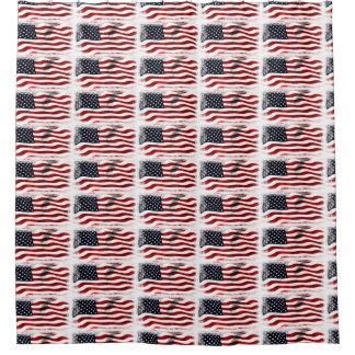 Rideaux De Douche Americain patriotique