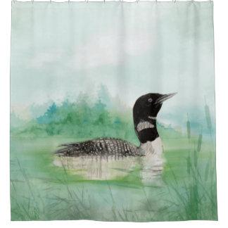 Rideaux De Douche Art commun de nature d'oiseau de dingue