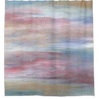 Rideaux De Douche Bleu rose du résumé 16