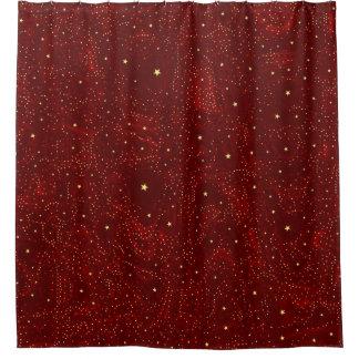Rideaux De Douche Étoiles sur toute la surface impressionnantes 01A