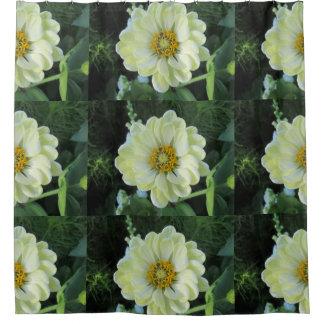 Rideaux De Douche Fleur jaune-clair de dahlia