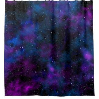 Rideaux De Douche Image étoilée de belle nuit de galaxie de l'espace
