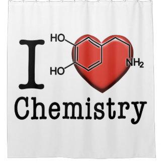 Rideaux De Douche J'aime la chimie