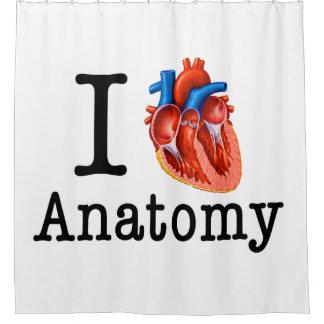 Rideaux De Douche J'aime l'anatomie