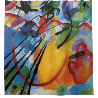 Rideaux De Douche Kandinsky - improvisation 26 (aviron)