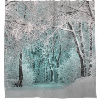 Rideaux De Douche Le pays des merveilles d'hiver