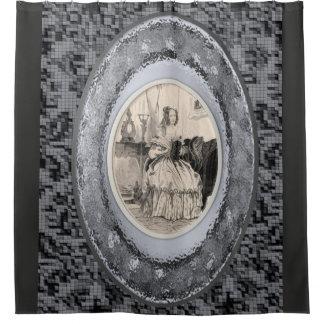 Rideaux De Douche Le showercurtain des femmes grises de victorian