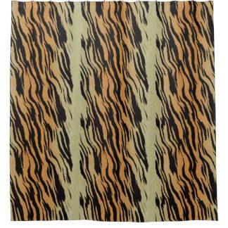 Rideaux De Douche Motif contemporain moderne de tigre