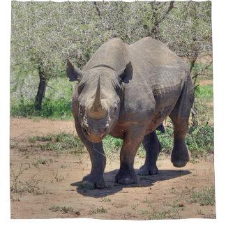 Rideaux De Douche rhinocéros
