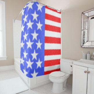 Rideaux De Douche Tissu américain de style-ART