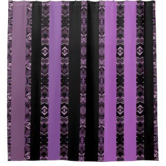 Rideaux De Douche violet noir