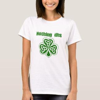Rien T-shirt de Jour de la Saint Patrick de CSAD