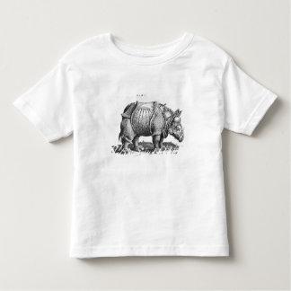 Rinoceros, van 'Historia Animalium Kinder Shirts