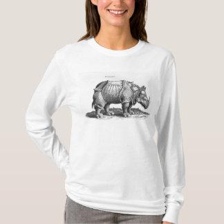 Rinoceros, van 'Historia Animalium T Shirt