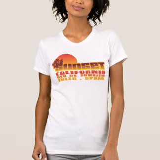 Rio de Janeiro Ibiza de la Californie de coucher T-shirt