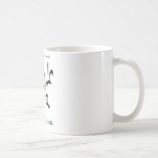 Risque de recyclage : écureuils de kamikaze mug