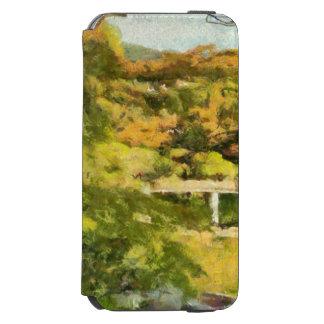 Rivage d'un petit lac coque-portefeuille iPhone 6 incipio watson™