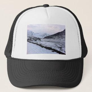 rivière congelée casquette