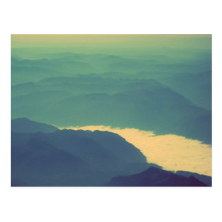 Rivière de nuage cartes postales