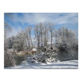 Rivière escroc carte postale