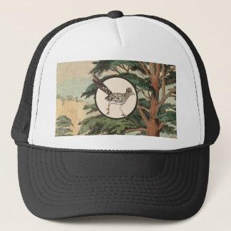 Roadrunner dans l'illustration d'habitat naturel casquette