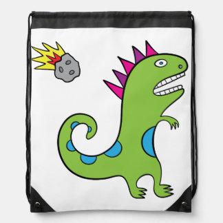 Roary le sac à dos de cordon de T-Rex