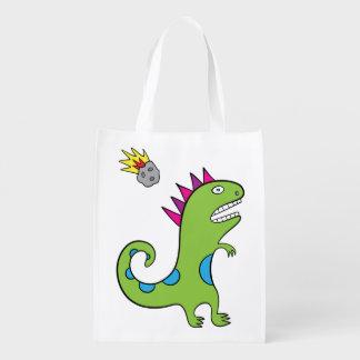 Roary le T-Rex - sac réutilisable