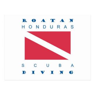Roatan Honduras Carte Postale