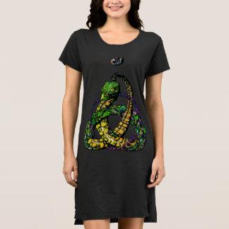 Robe celtique de couleur de serpent de noeud de