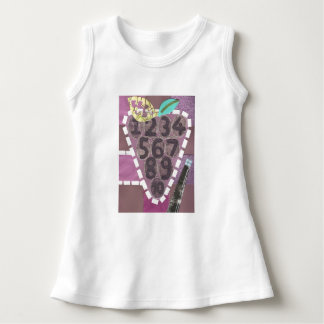Robe de bébé de piscine de raisin
