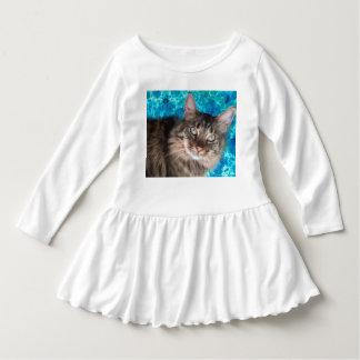 Robe de chat d'enfant en bas âge