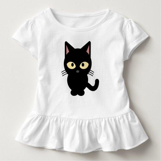 robe de chat noir tee shirts zazzle. Black Bedroom Furniture Sets. Home Design Ideas