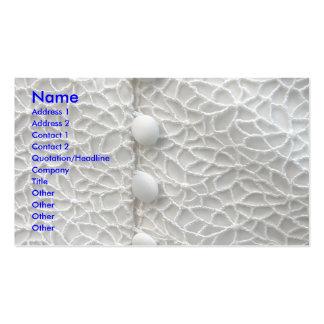 Robe de mariage blanche modèles de cartes de visite