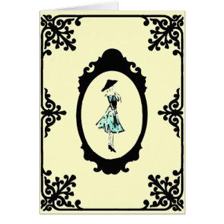 Robe de point de polka - carte