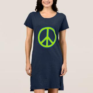 Robe de signe de paix
