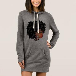 """Robe de sweat - shirt à capuche de CURLZ """"LIZA"""""""